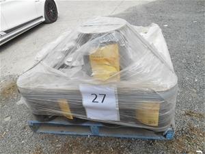 Pallet of Shell Omala S2 G100 Gear oil 1