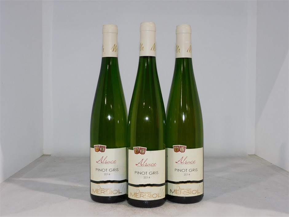 Domaine Mersiol Pinot Gris 2014 (3x 750mL), Alsace, France
