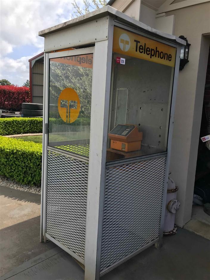Telecom Phone Booth