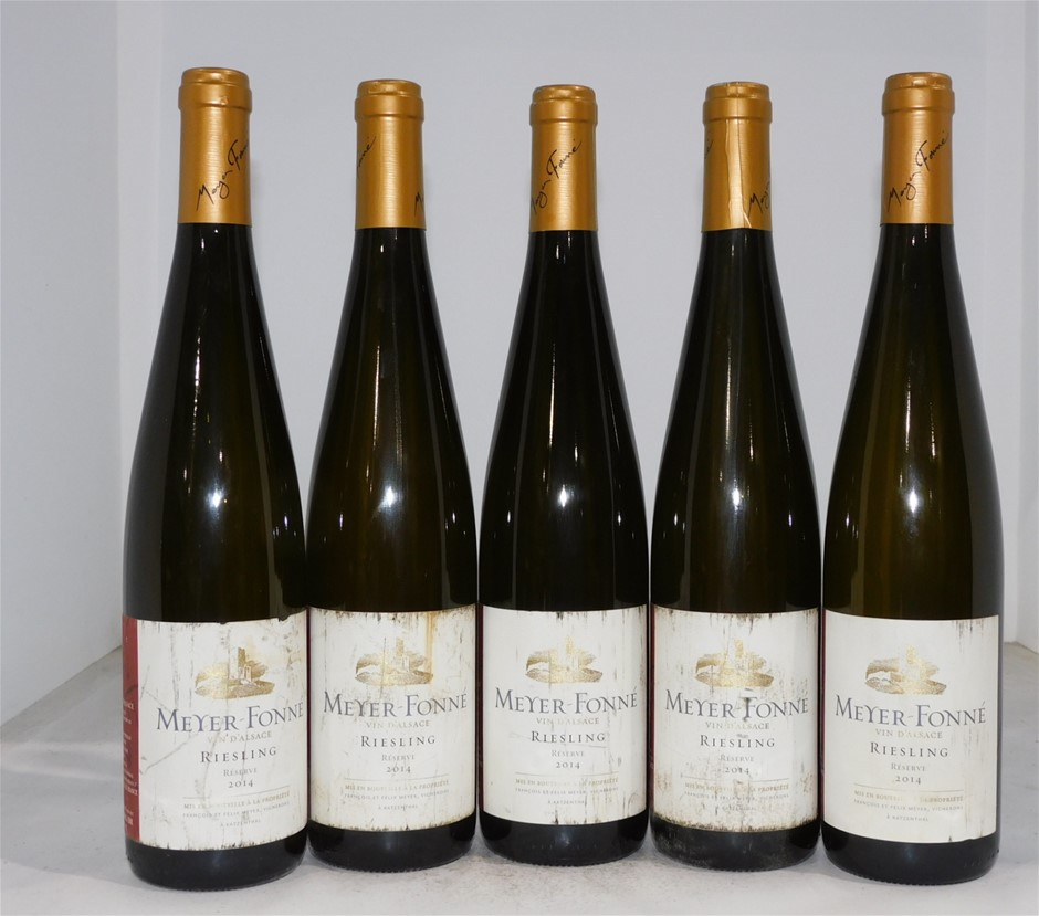 Meyer Fonne Riesling 2014 (5x 750mL), Alsace, France