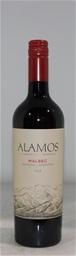 Alamos Malbec 2018 (6x 750mL), Argentina. Screwcap.