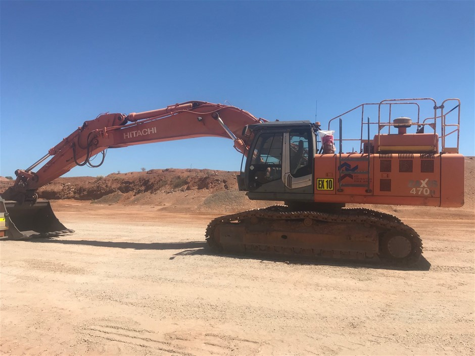 Hitachi ZX470H-3 Excavator