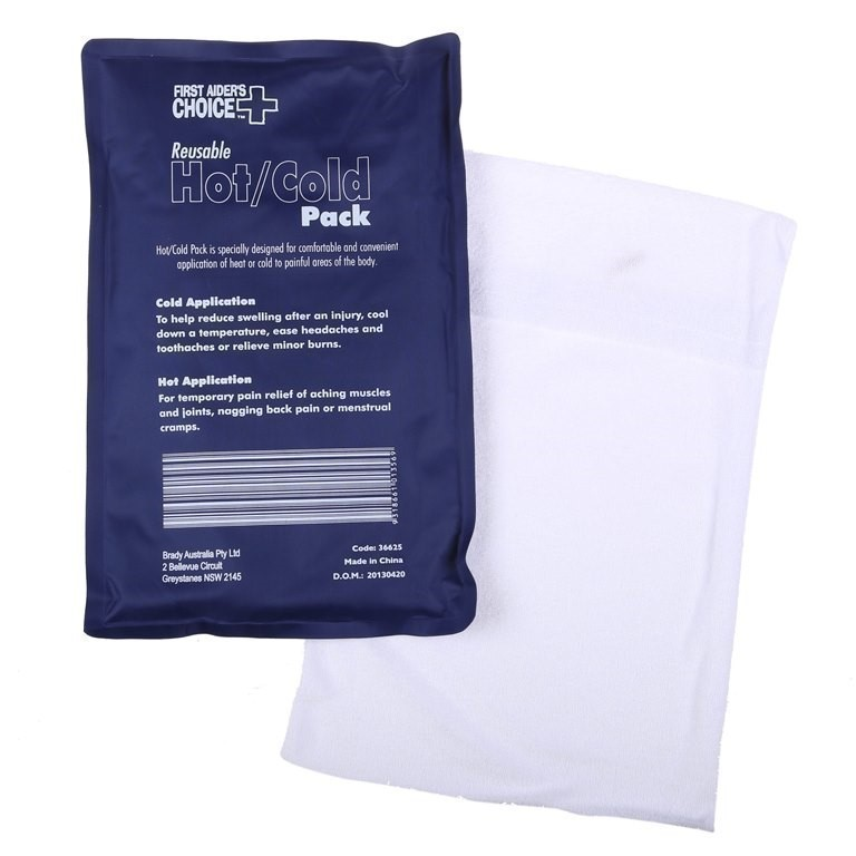 4 x Reusable Deluxe Hot/Cold Packs (Large). Buyers Note - Discount Freight