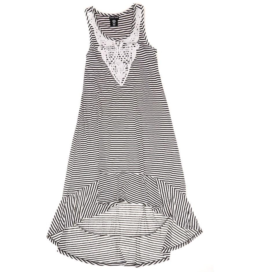 PAPER DOLL Women`s Midi Dress, Size 16, Black & White. Buyers Note - Discou