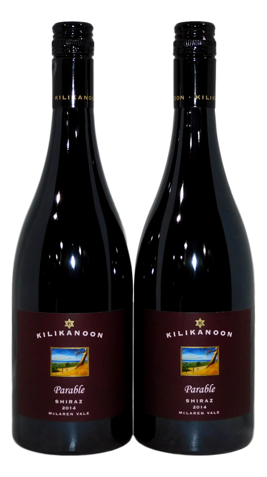 Kilikanoon Parable Shiraz 2014 (2x 750ml), McLaren Vale, SA