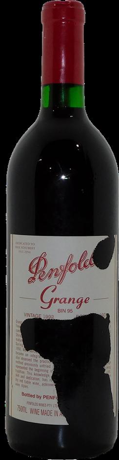 Penfolds Grange Bin 95 Shiraz 1992 (1x 750mL), SA. Cork
