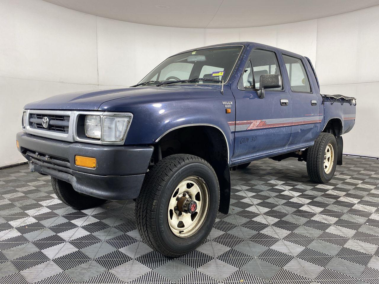 1992 Toyota Hilux Double Cab SR5 Manual Dual Cab