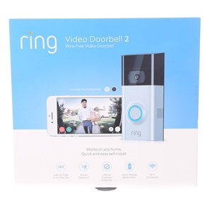 RING Video Doorbell 2 with 1080 HD Video