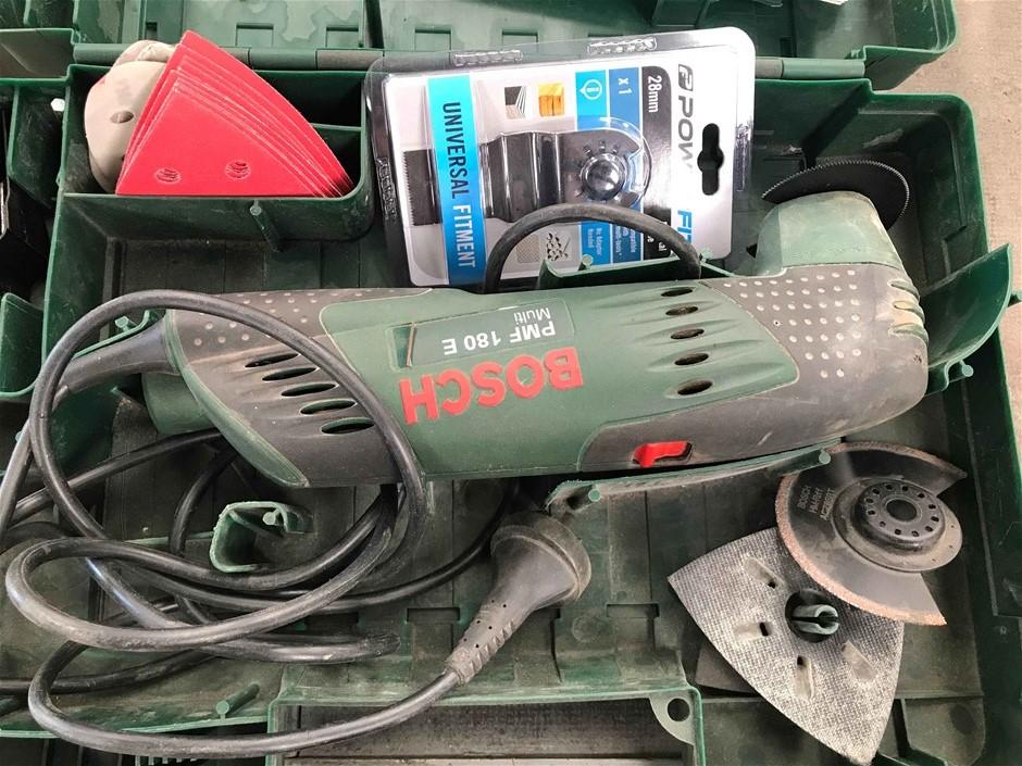 Bosch PMF180E Multi-Tool and Case