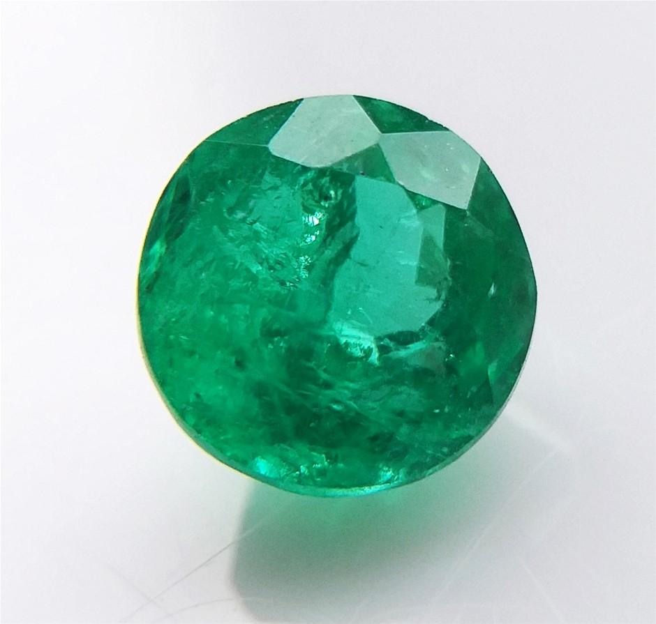 0.73 Carat Colombian Emerald