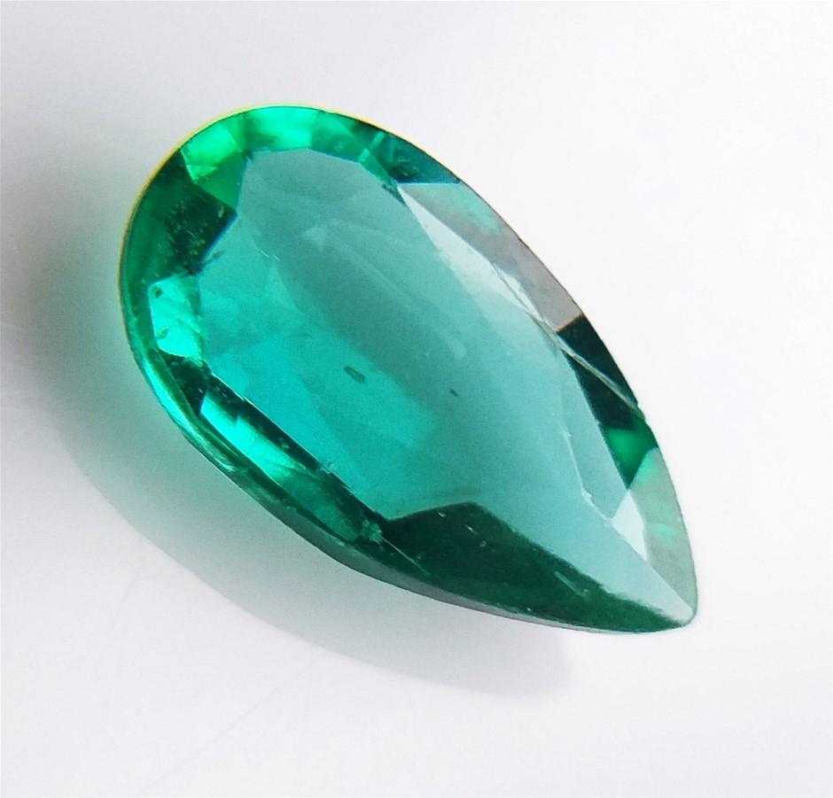 0.62 Carat Colombian Emerald