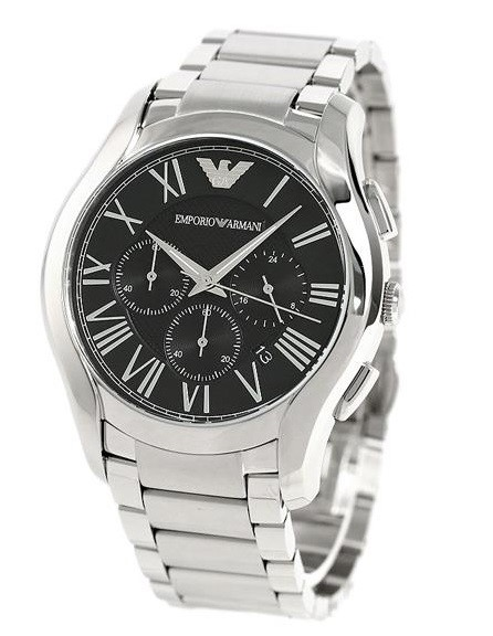 Timeless new Emporio Armarni stainless steel men's watch.