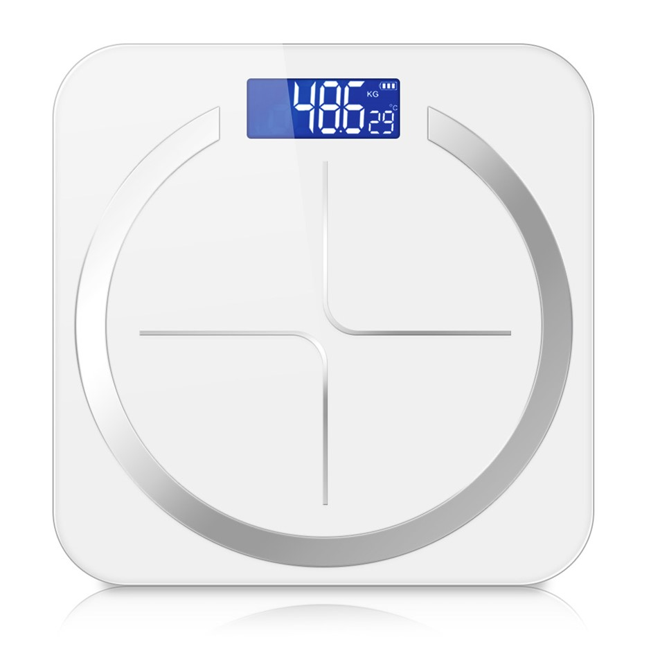 SOGA 180kg Digital Fitness Weight Bathroom Glass LCD Electronic Scales