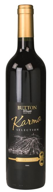 Button Wines Karma Selection Shiraz 2014 (6 x 750mL) VIC