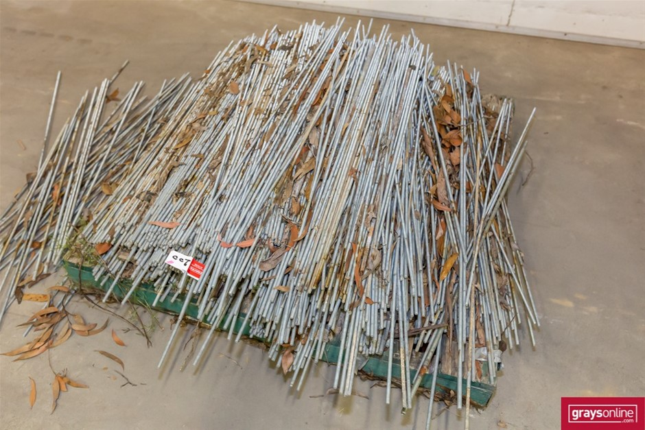 Pallet of Assorted Treaded Rod