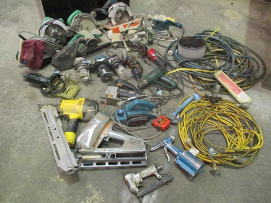 Trades & Handy Persons Various Electrical & Pneumatic Hand Tools