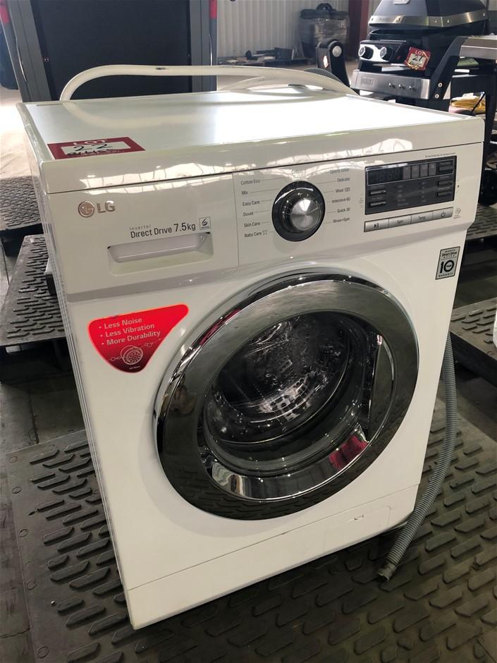 LG 7.5 Kg Front Loader Washing Machine (Pooraka, SA)