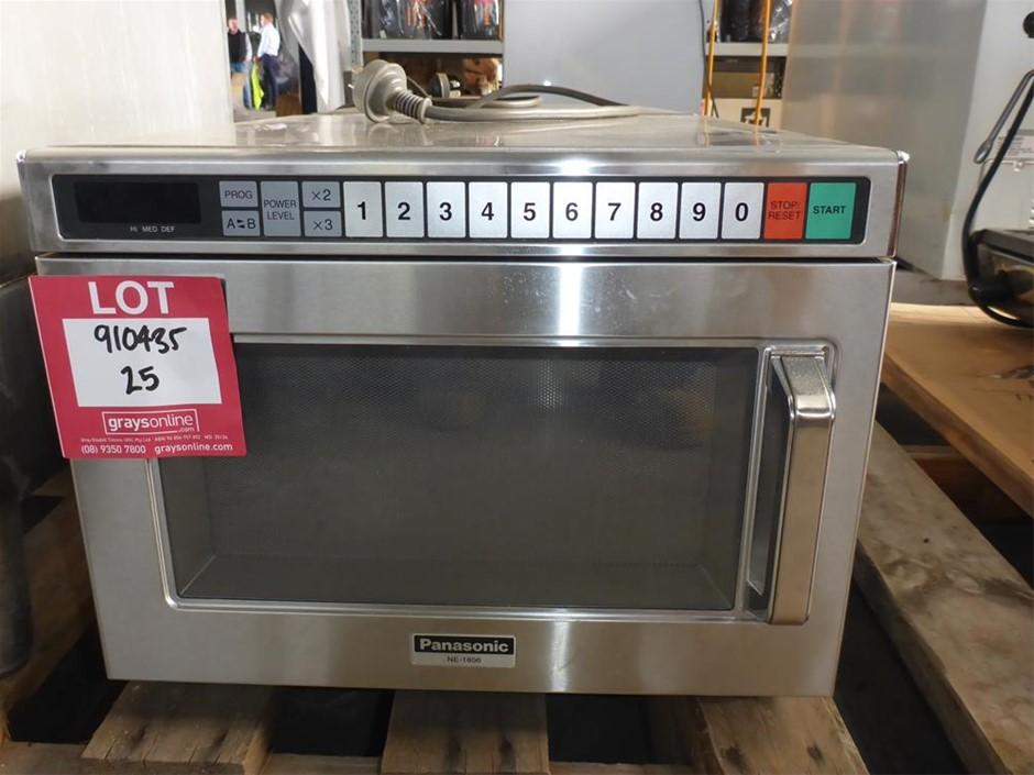 Panasonic NE-1856 Commercial Microwave Oven
