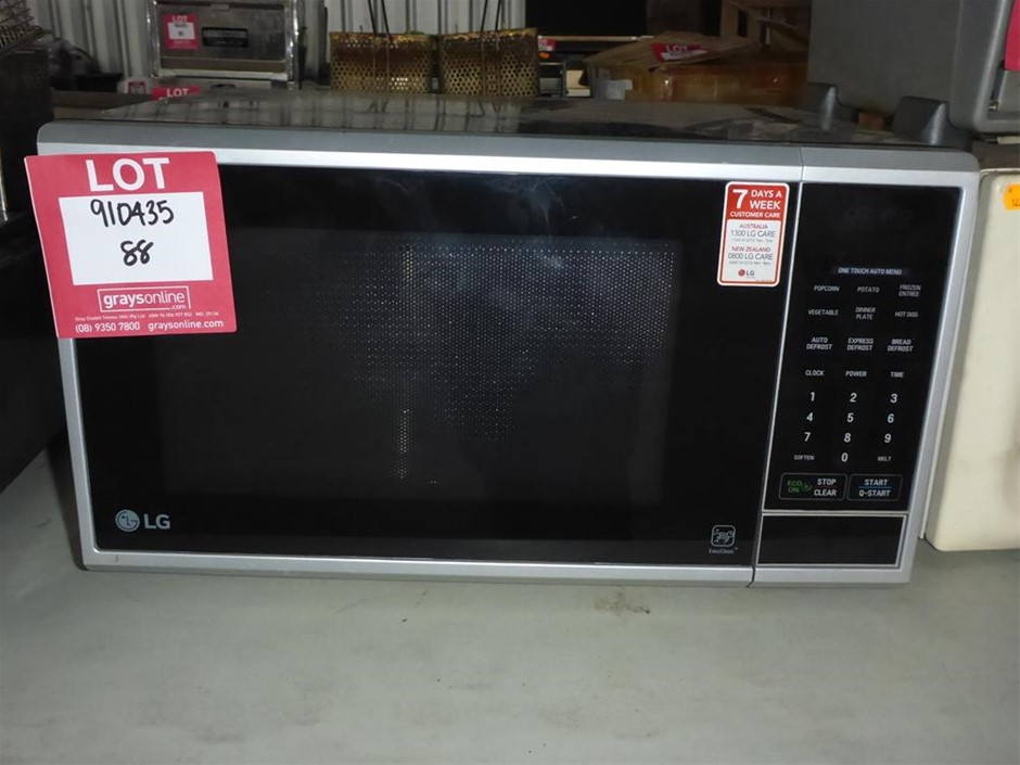 LG MS25490SRB Microwave Oven