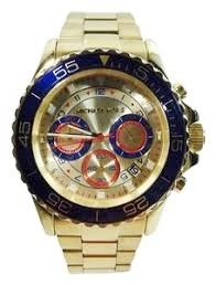 Michael Kors Couture NY mens 'Everest' distinctive chronograph watch,