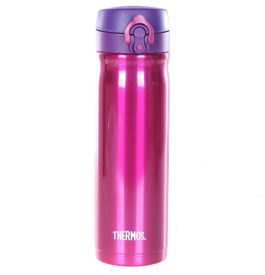 THERMOS 2pk Stainless Steel Direct Drink Bottle, 470ml, Pink. Buyers Note -