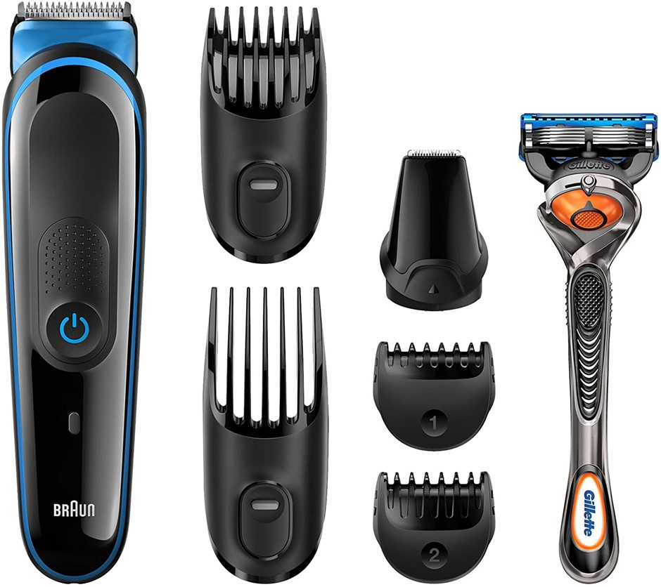 BRAUN Multi Grooming Kit MGK3045 7-in-1 Precision Trimmer for Beard and Hai
