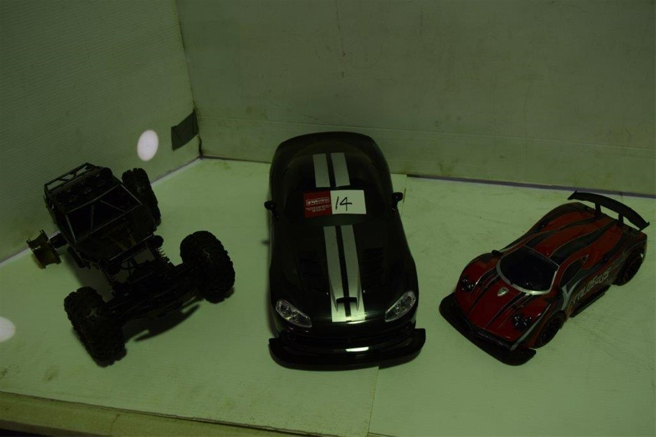 Lot of 3 Assorted Model Cars