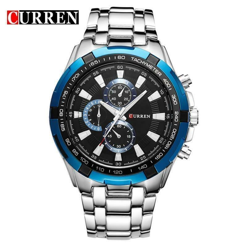 Men's Luxury Watches Stainless Steel Waterproof watch