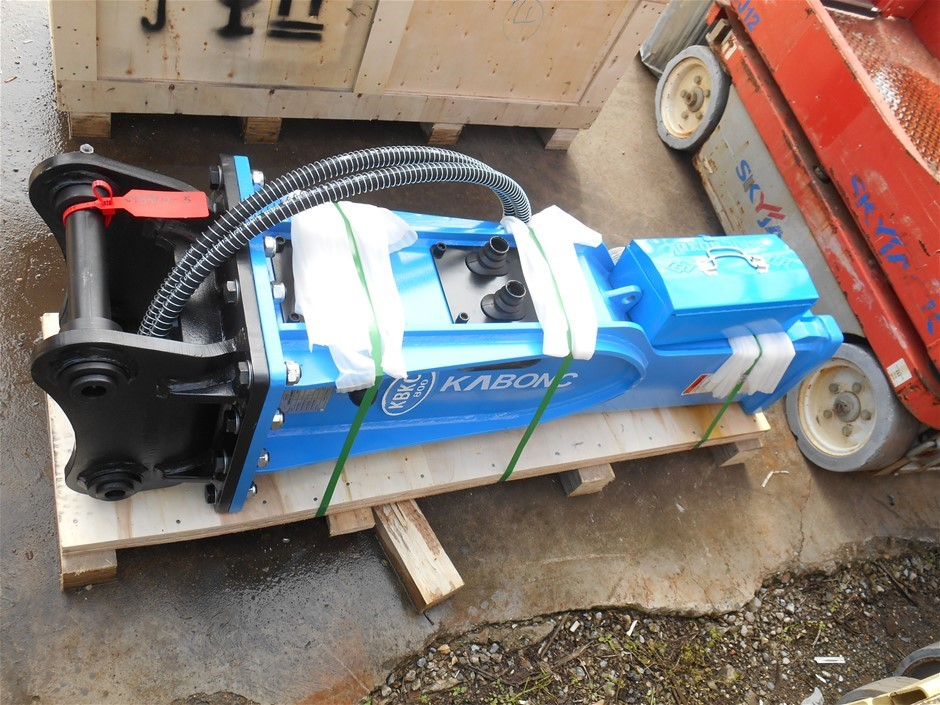 Unused Box Type KBKC800 Hydraulic Hammer with 50mm Pins