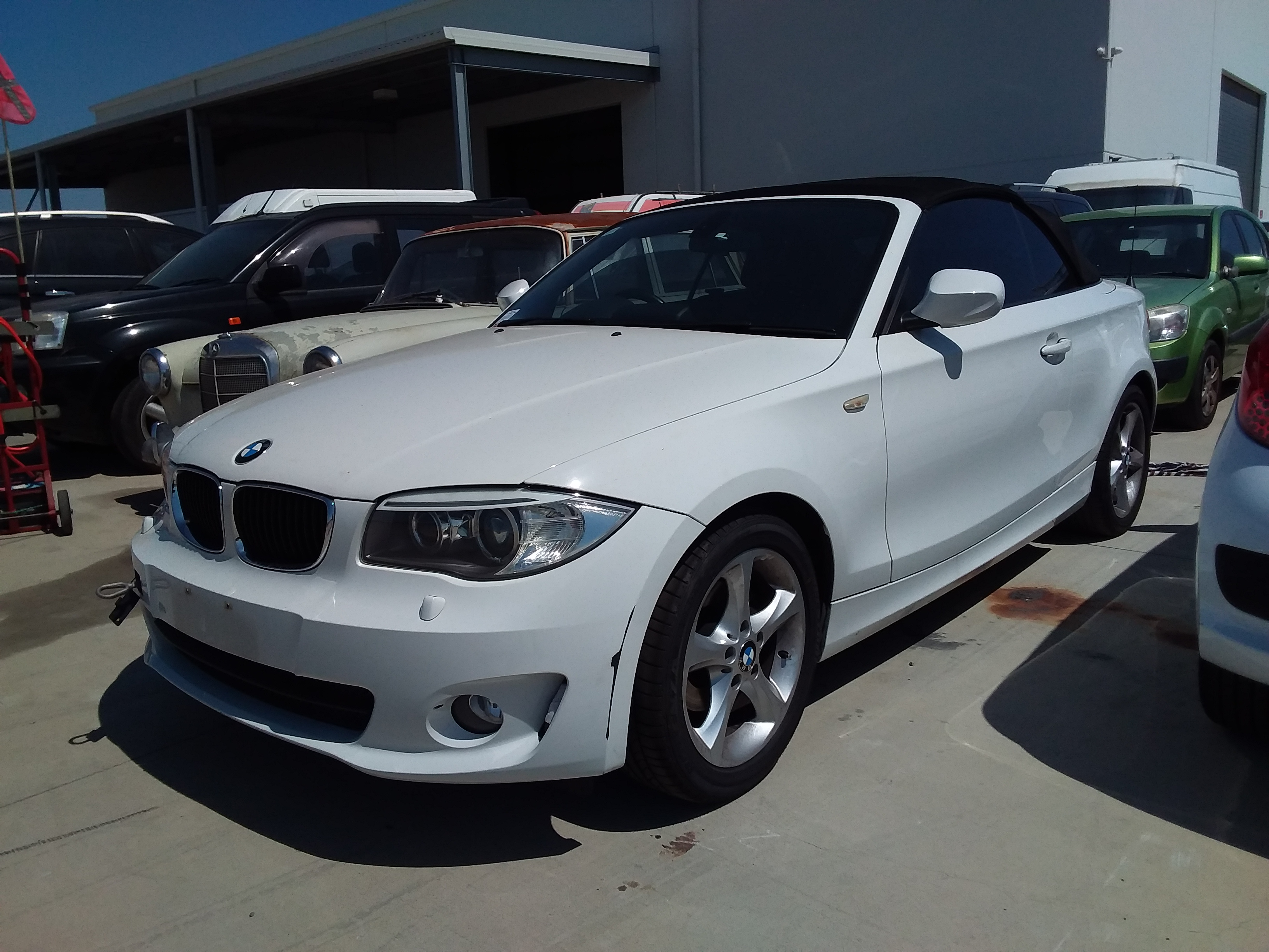 2013 BMW 118d E88 Turbo Diesel Automatic Convertible