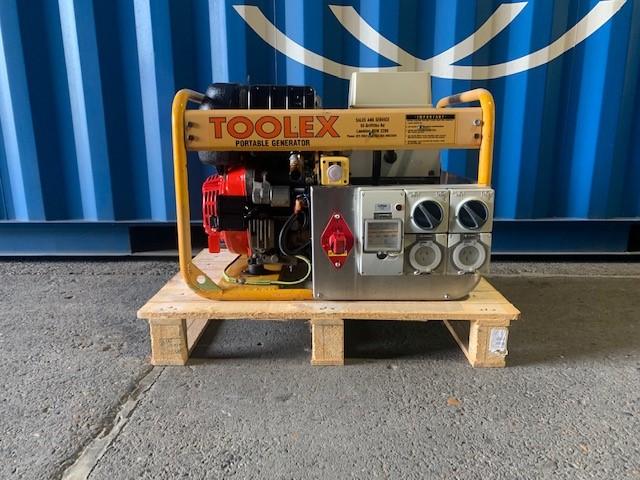 Toolex Welder Generator