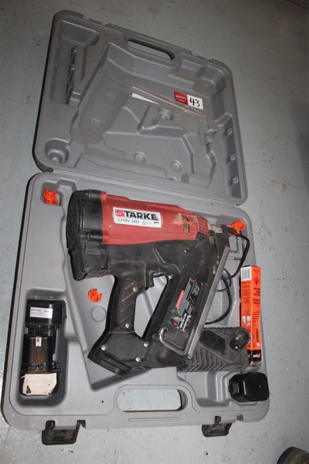 Starke CFRN-34M Cordless Nail Gun in Poly Case