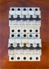 Lot of 10 Clipsal 20A Single Pole Circuit Breakers