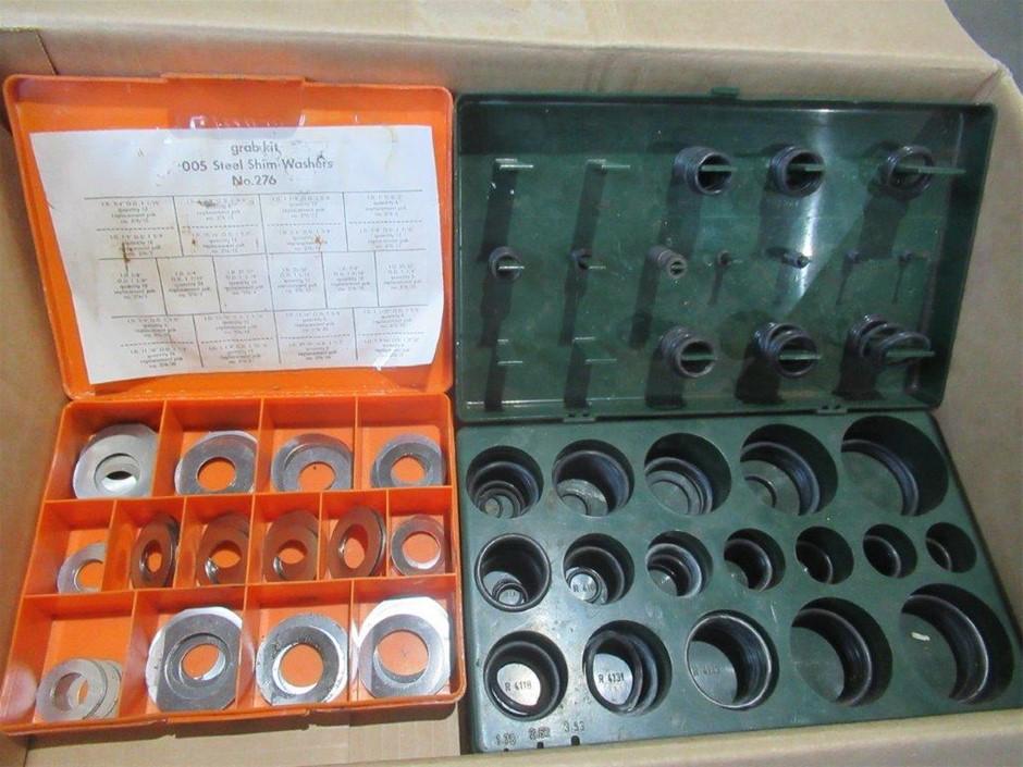 Steel Shim Kit & O-Ring Set