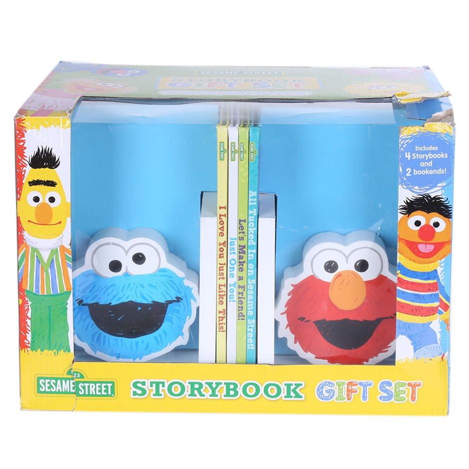SESAME STREET Storybook Gift Set N.B. Slightly Damaged Outer Carton. (SN:CC