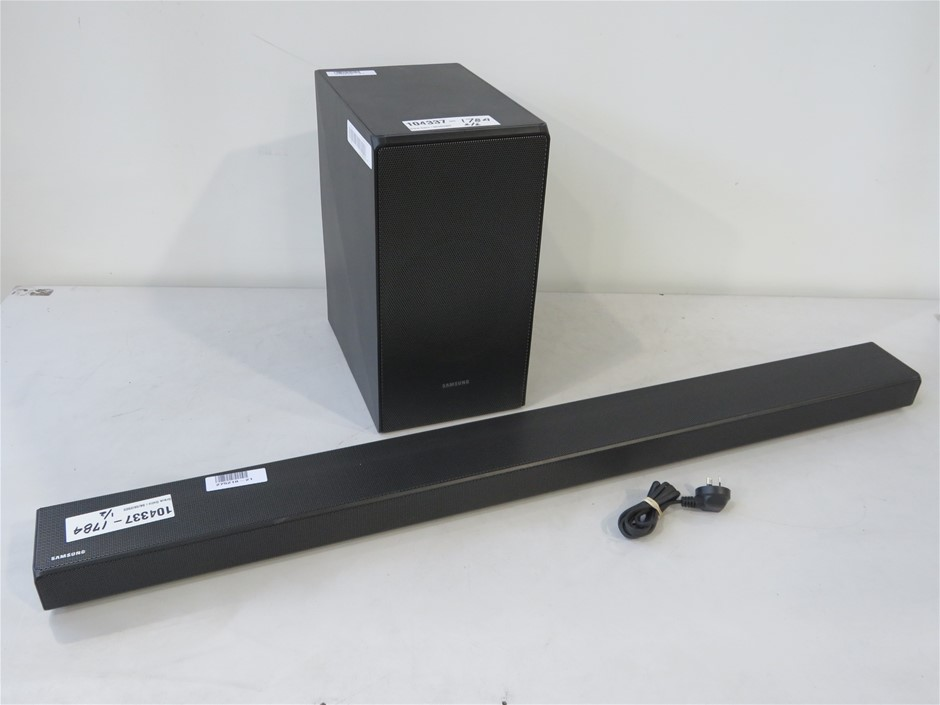 Samsung (HW-N650) Sound Bar and (PS-WN30) Sub Woofer