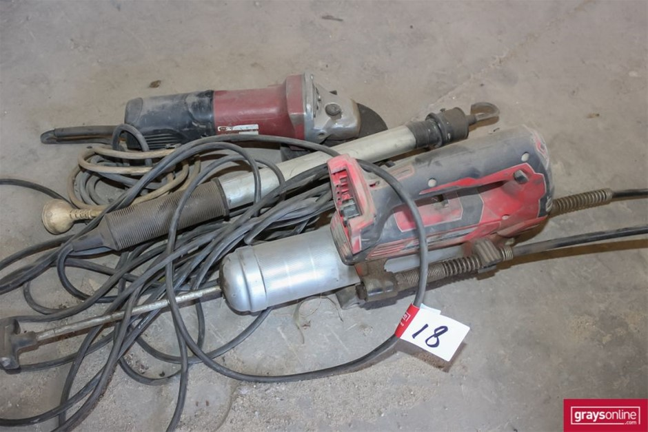 3x Assorted Power Tools