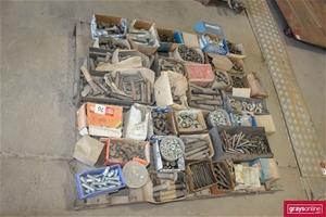 Pallets of Assorted Fastener