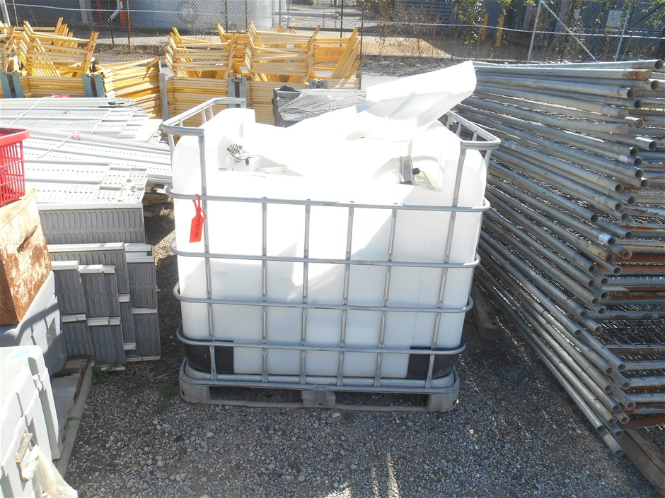 1x IBC and Contents Contents includes: approx Various type 25 used E