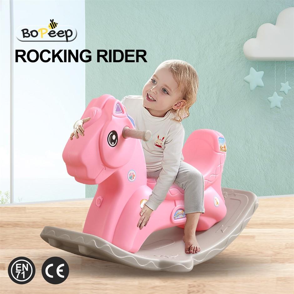 BoPeep Kids Rocking Horse Toddler Horses Pony Ride On Toy Balance Rocker