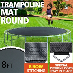 8FT Replacement Trampoline Mat Round Spr