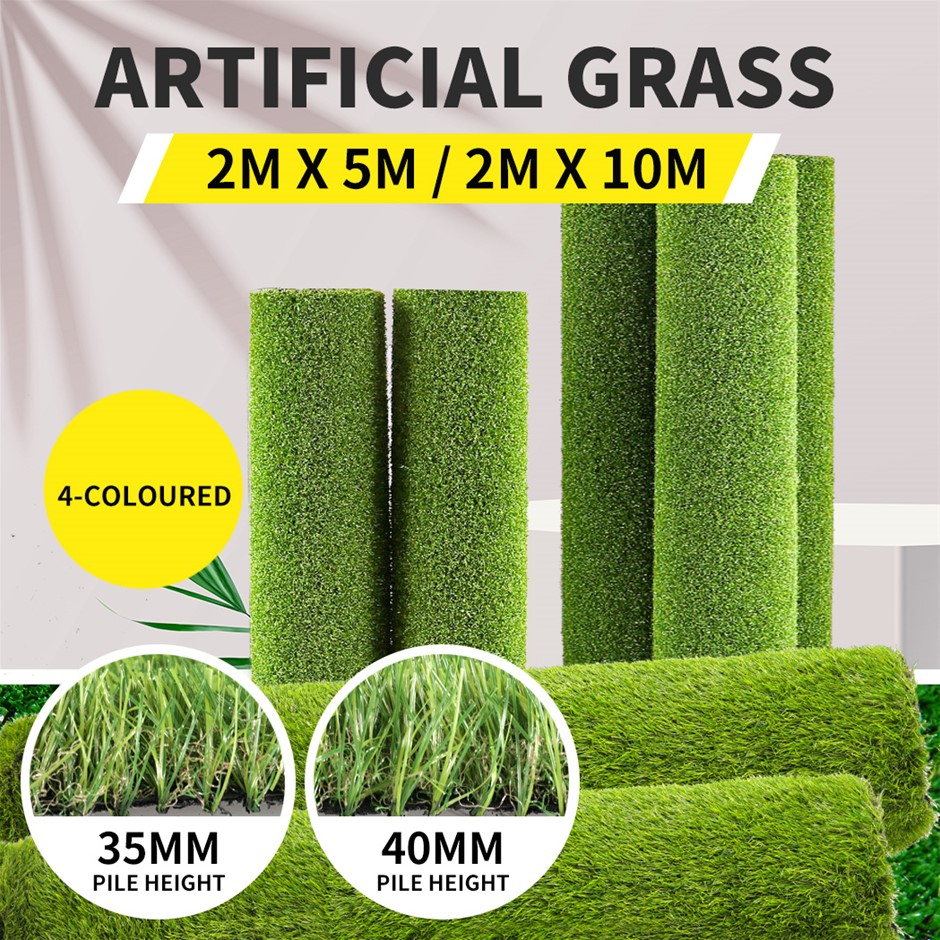 Artificial Grass Fake Mat Synthetic Turf Outdoor Garden Plastic Plant