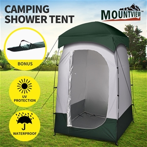 Mountview Camping Shower Toilet Tent Out