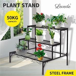 Levede Plant Stands Outdoor Indoor Metal