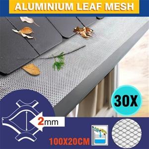 30m Aluminium Gutter Mesh Guard Leaf Gar