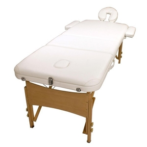 Wooden Portable Massage Table 70cm - WHI