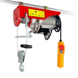 250 / 500 Kg 12m Rope Electric Winch / H