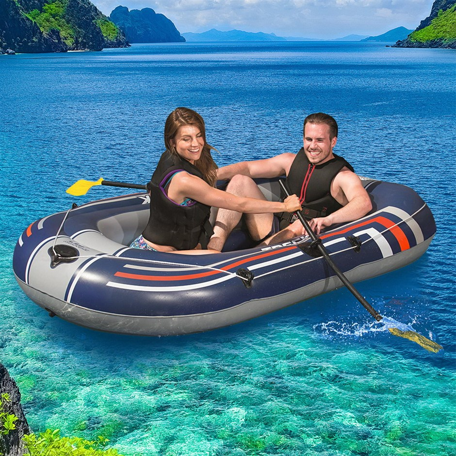 Bestway Kayak Boat Fishing Inflatable 2-person Canoe Raft HYDRO-FORCE™