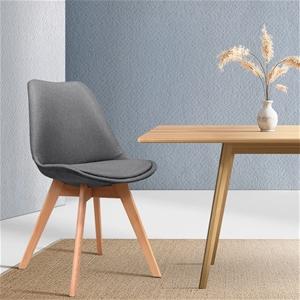 Artiss Dining Chairs DSW Retro Replica E