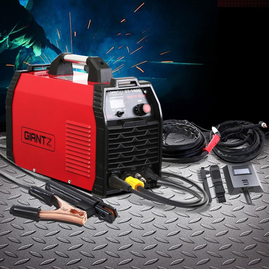 Giantz 140Amp Inverter Welder Plasma Cutter Gas DC iGBT Welding Machine
